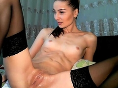 Juvenile small titties cumulate finger procure pussy - girlshotwebcam.com