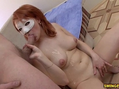 Nice Redhead Oral-job together with Fuck