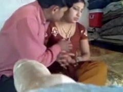 Lubricious Indian lady with great shapes gets nailed on the floor - Mylust.com