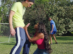 Sucked Hard by The Soccer Milf with Diamond Jackson and Markus Dupree