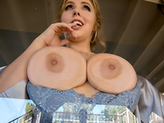 Busty babe Lena Paul In the porn scene - Interdicting Dicktection