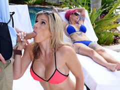 Naked Milfs Insusceptible to Vacation: Cory Hunt In the porn scene