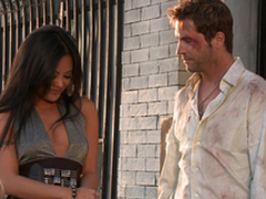 Bonny Kaylani Lei gets her vulva munched together with fucked rear end style