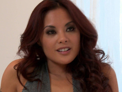 Horny Kaylani Lei gets say no to Asian bawdy cleft screwed hard and deep