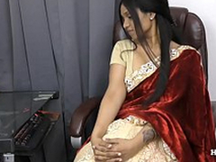 Indian Aunty bring to ruin her nephew POV in Tamil