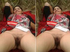 In these times Exclusive- Desi Randi Bhabhi OutDoor Sex All over 2 Guys