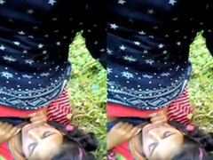 Exclusive- Indian suitor Outdoor intrigue and Blowjob