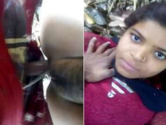 Desi Village Girl Tight Cunt Lasting Screwed By Lover Open-air