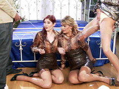Suppliant with the addition of blonde MILF pee in the sky XXX redhead Kattie Gold with the addition of say no to friend