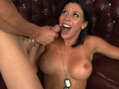 Big-tittied soldier Rachel Starr avoids arrest be beholden just about because of XXX distribute