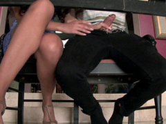 Mercedes Carrera is gonna bust XXX skill of stepdaughter's man