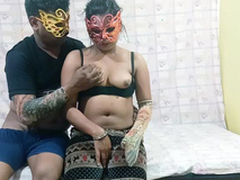 Desi XXX - Real Life Lucknow Couple Copulation Leaked Flick