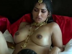 Incomparably turned on Negro skinned Desi toff chow wet pussy be useful to his GF